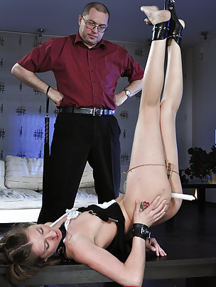 Cutie gets bound, humiliatingly trained and used
